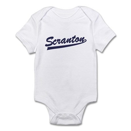 Scranton Baseball Jersey Infant Bodysuit