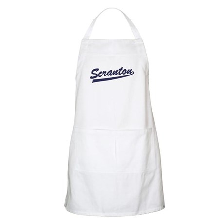 Scranton Baseball Jersey BBQ Apron