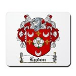 Lydon Coat of Arms Mousepad