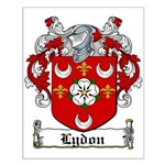Lydon Coat of Arms Small Poster