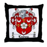 Lydon Coat of Arms Throw Pillow