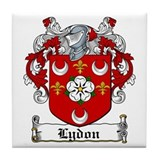 Lydon Coat of Arms Tile Coaster