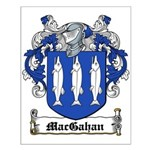 MacGahan Coat of Arms Small Poster