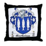 MacGahan Coat of Arms Throw Pillow