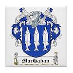 MacGahan Coat of Arms Tile Coaster