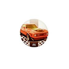 Cute Race cars Mini Button (10 pack)