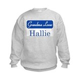 Grandma Loves Hallie Sweatshirt
