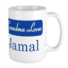 Grandma Loves Jamal Mug