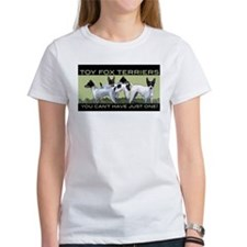 toy fox terrier group Tee