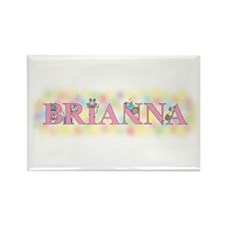 """""""Brianna"""" with Mice Rectangle Magnet"""