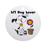 Li'l Dog Lover Ornament (Round)