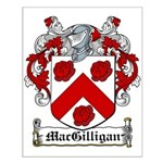 MacGilligan Coat of Arms Small Poster