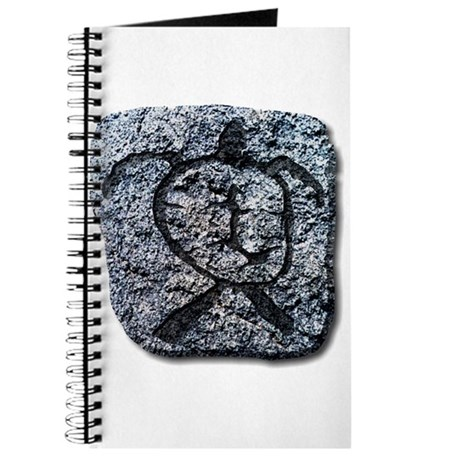Hawaiian Turtle - stone Journal