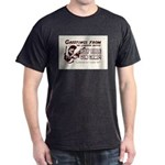 Gun Camp Greetings Black T-Shirt