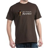Jesus Watching U Masturbate Black T-Shirt