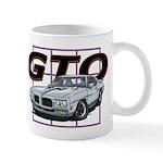 Silver Pontiac GTO Coffee Mug