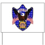 Independence Day Eagle Yard Sign