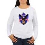 Independence Day Eagle Women's Long Sleeve T-Shirt