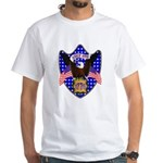 Independence Day Eagle White T-Shirt