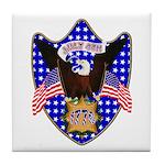 Independence Day Eagle Tile Coaster
