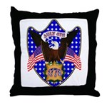 Independence Day Eagle Throw Pillow