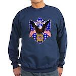 Independence Day Eagle Sweatshirt (dark)