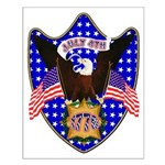 Independence Day Eagle Small Poster