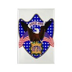 Independence Day Eagle Rectangle Magnet (100 pack)