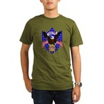 Independence Day Eagle Organic Men's T-Shirt (dark