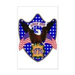 Independence Day Eagle Mini Poster Print