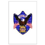 Independence Day Eagle Large Poster