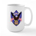 Independence Day Eagle Large Mug