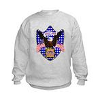 Independence Day Eagle Kids Sweatshirt