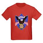 Independence Day Eagle Kids Dark T-Shirt