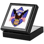 Independence Day Eagle Keepsake Box