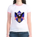 Independence Day Eagle Jr. Ringer T-Shirt