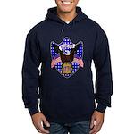 Independence Day Eagle Hoodie (dark)