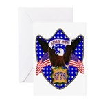 Independence Day Eagle Greeting Cards (Pk of 10)