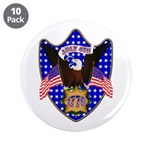 """Independence Day Eagle 3.5"""" Button (10 pack)"""