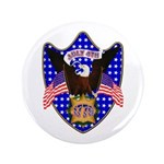 """Independence Day Eagle 3.5"""" Button"""