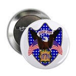 """Independence Day Eagle 2.25"""" Button (100 pack"""