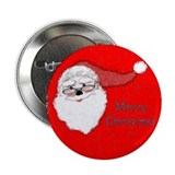 MERRY SANTA Button