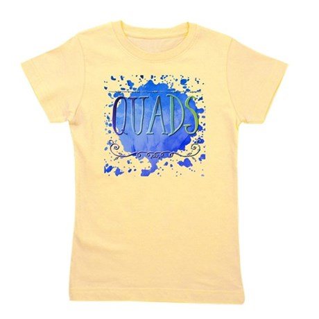 Blue and Purple Awareness Rib Organic Kids T-Shirt