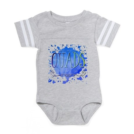 Blue and Yellow Awareness Rib Organic Toddler T-Sh