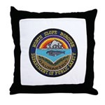 North Slope Borough PD Throw Pillow