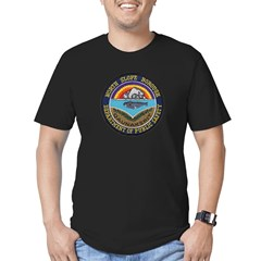 North Slope Borough PD Men's Fitted T-Shirt (dark)