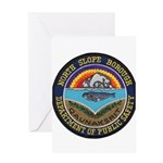 North Slope Borough PD Greeting Card