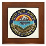 North Slope Borough PD Framed Tile
