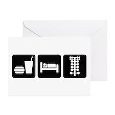 Eat Sleep Drag Greeting Cards (Pk of 20)