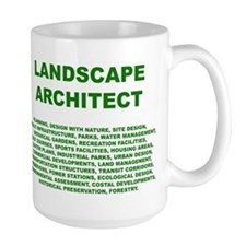 What a Landscape Architect Does - Mug